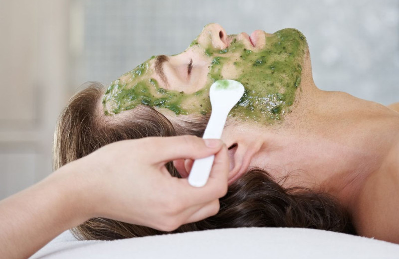 Facials at MacArthur Place.