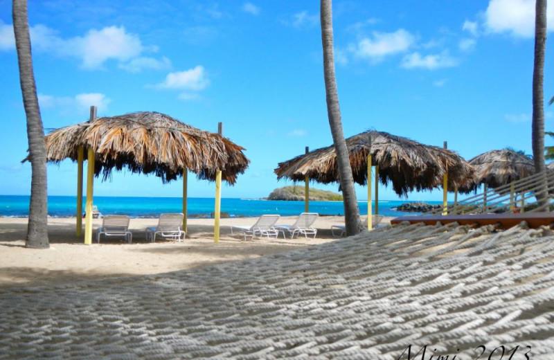 Lounge Huts at Tamarind Reef Resort