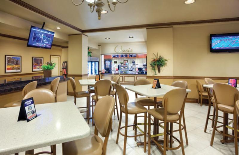 Dining area at Wyndham Grand Desert.