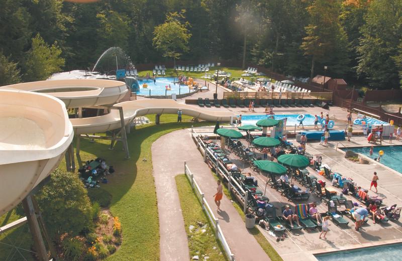 Waterpark at Smugglers' Notch Resort.
