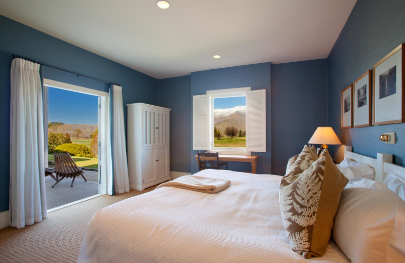 Guest room at Millbrook Resort.