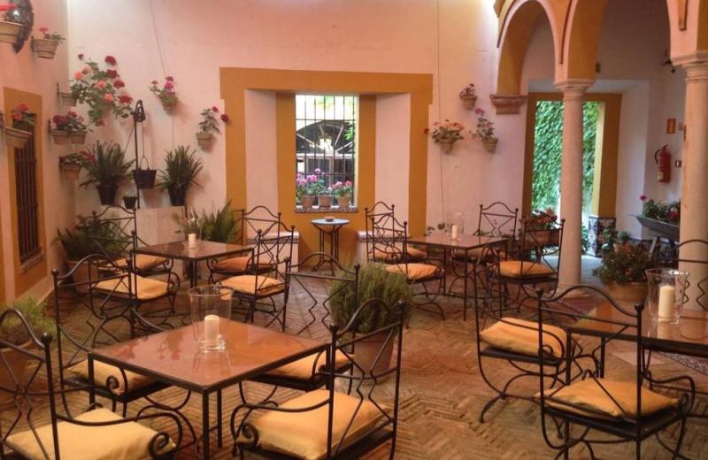 Dining at Hotel Casa Imperial.