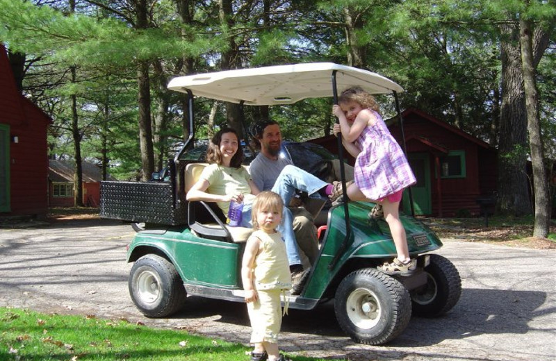 Family fun at Birchcliff Resort.