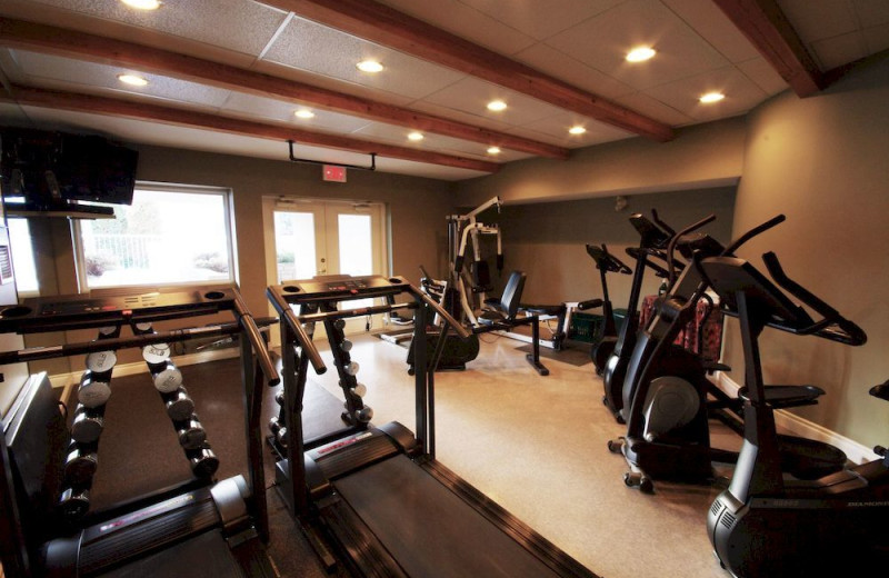 Fitness room at South Thompson Inn & Conference Centre.
