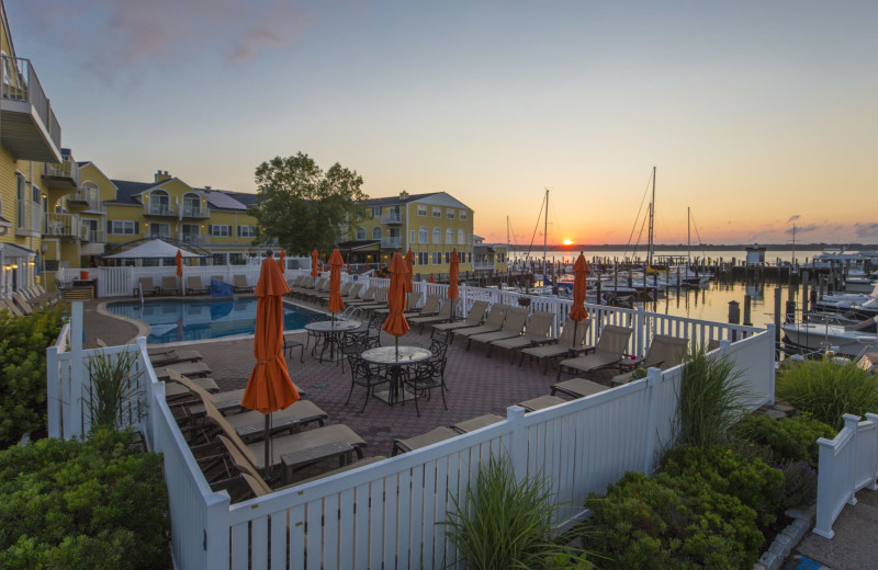 Outdoor pool at Saybrook Point Inn, Marina & Spa.