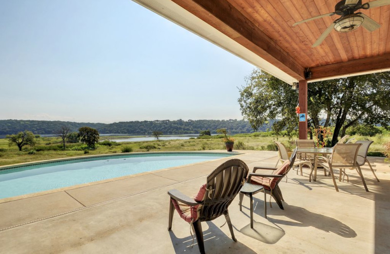 Outdoor pool at Hill Country Ranch at Lake Travis.