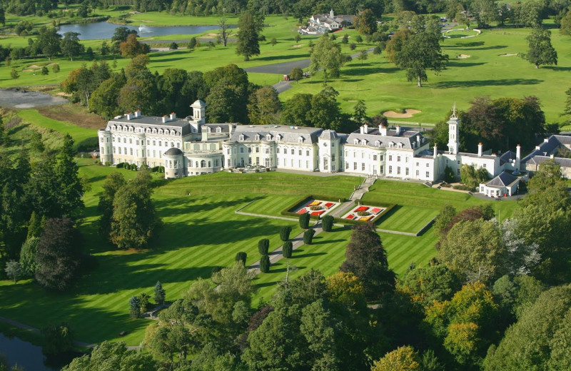 Aerial view of Kildare Hotel and Country Club.