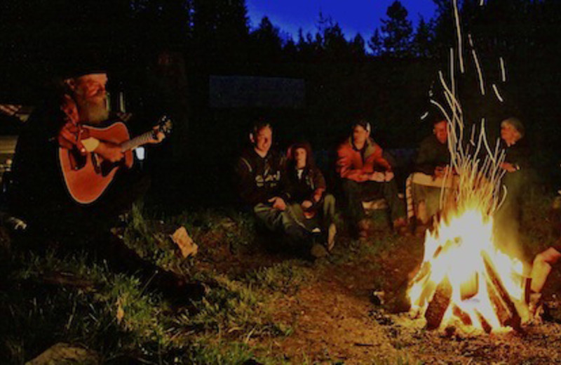 Campfires at Red Horse Mountain Ranch
