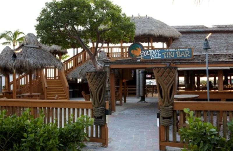 Tiki Bar at Postcard Inn Beach Resort & Marina at Holiday Isle.