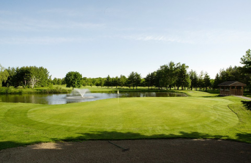Golf course at Lakeview Hills Golf Resort.