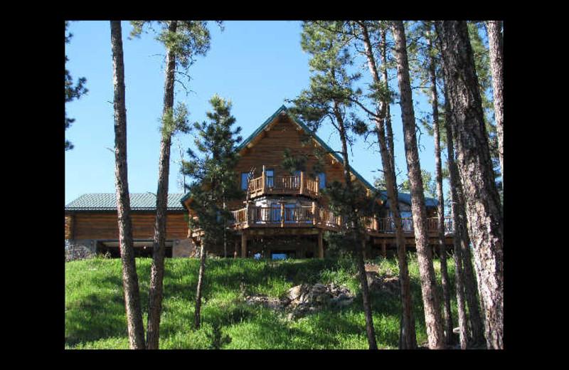 Exterior view of Emerald Pines Refuge Bed & Breakfast.