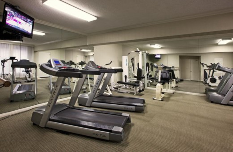 Fitness Center at Pepper Tree Inn