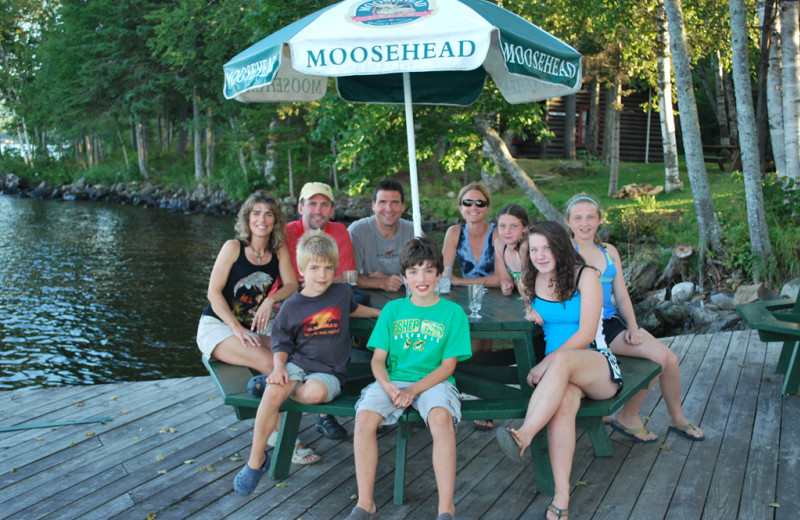 Family at The Birches Resort.