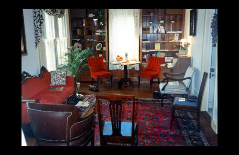 Parlor view at Aaron Burr House Inn and Conference Center.