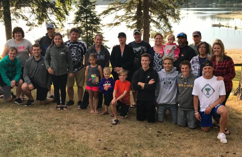 Reunions at Lakewood Lodge.