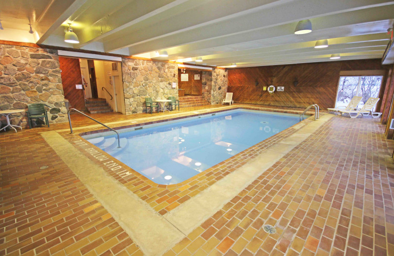 Indoor pool at Elmhirst's Resort.