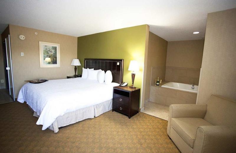 Spa suite at Hampton Inn Port Huron.
