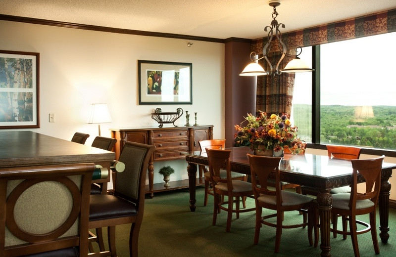 Hospitality Suite at Grand Traverse Resort.