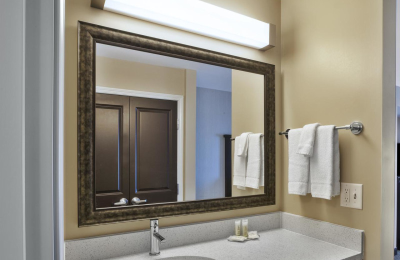 Guest bathroom at Staybridge Suites - Benton Harbor.