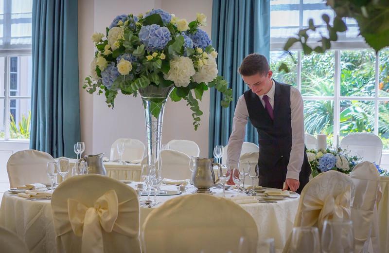 Wedding reception at Portmarnock Hotel and Golf Links.