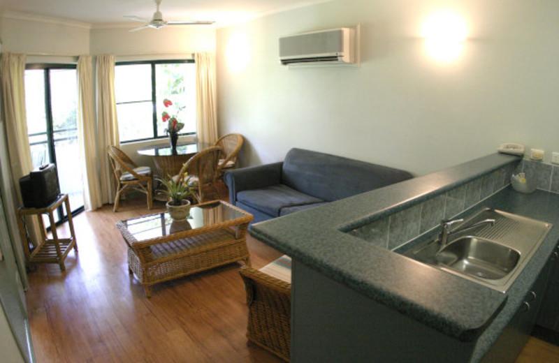 Guest room at Half Moon Bay Resort.