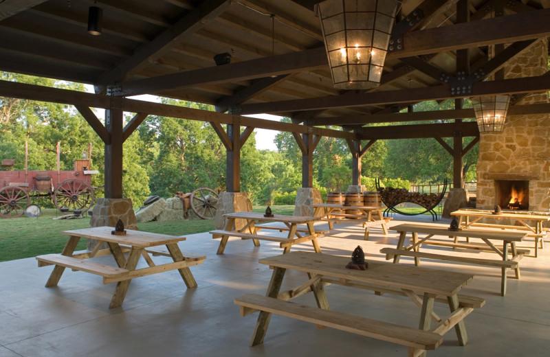 Pavilion at Hyatt Regency Lost Pines Resort and Spa.