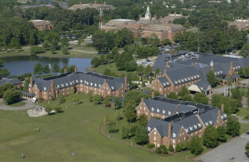 Aerial View of The Founders Inn