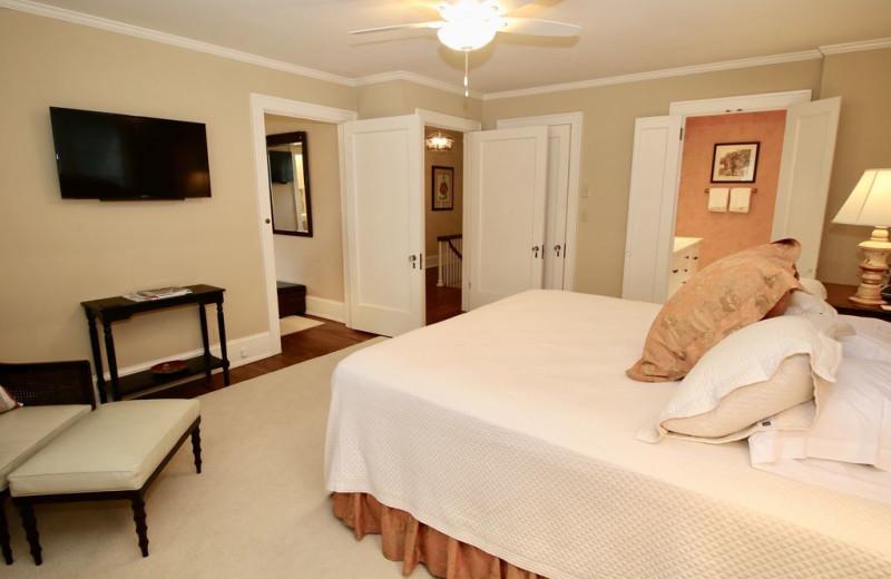 Rental bedroom at Sandhills Rentals.