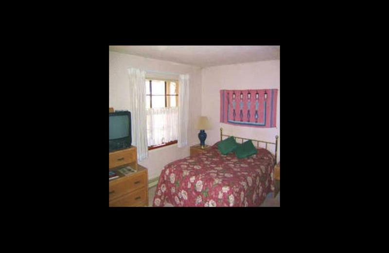 Guest room at Rose Tree Inn.