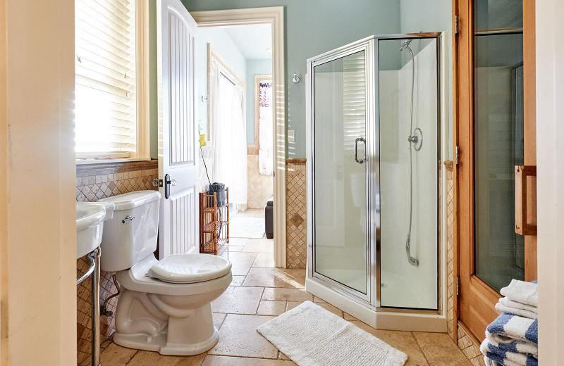 Bathroom at Admiral's Beach Retreat.