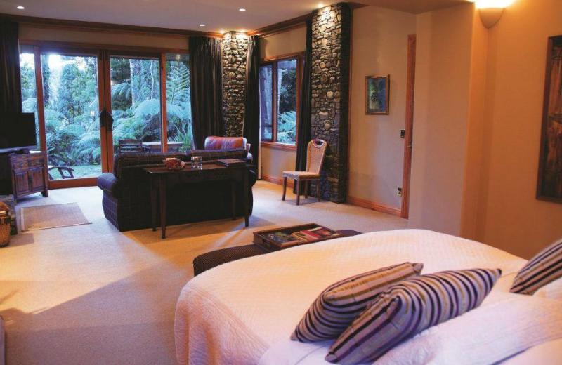 Guest room at Treetops Lodge & Estate Rotorua.