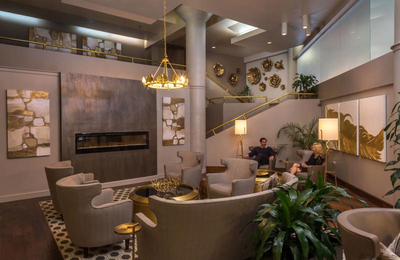 Lobby at Haywood Park Hotel.