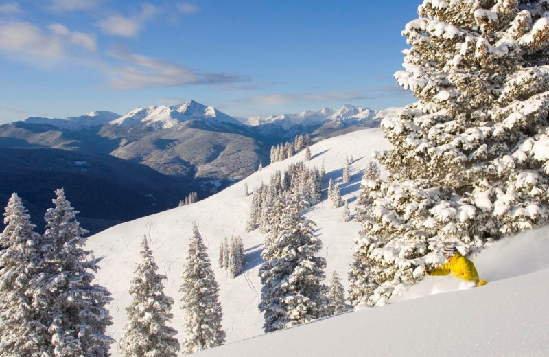 Skiing at Summit Vacations.
