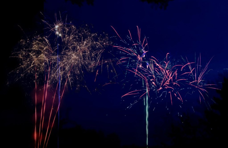 Fireworks at Great Blue Resorts- Shamrock Bay Resort.