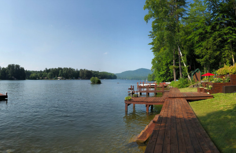 Rental dock at Northern Living - Luxurious Vacation Rentals