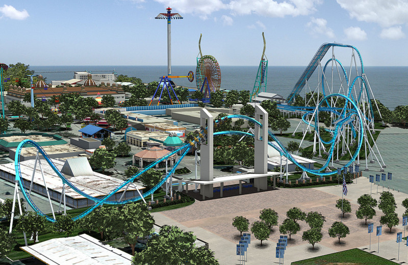 Cedar Point near Maui Sands Resort & Indoor Waterpark.