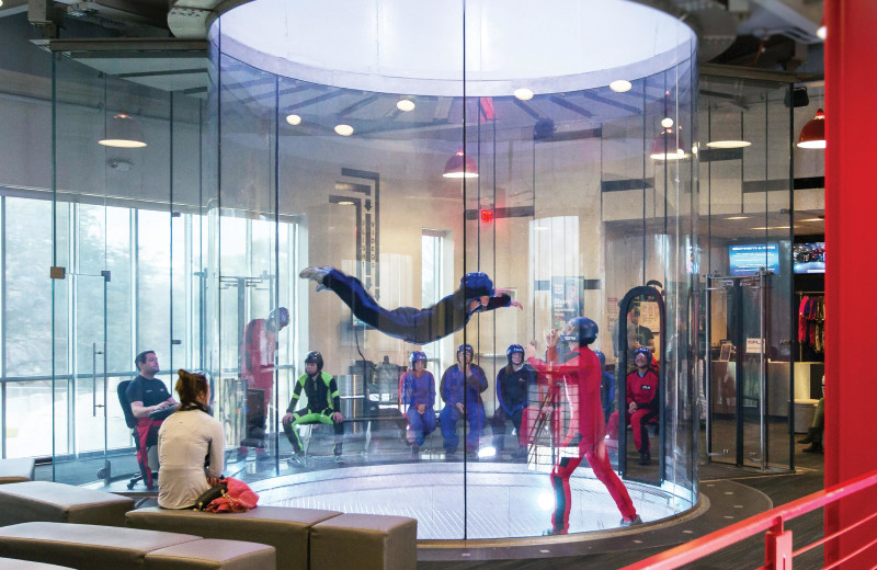 Indoor sky diving near Padzu Vacation Homes - Scottdale.