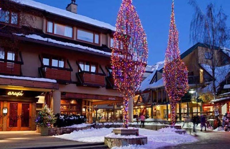 The holidays at Whistler Premier Resort.