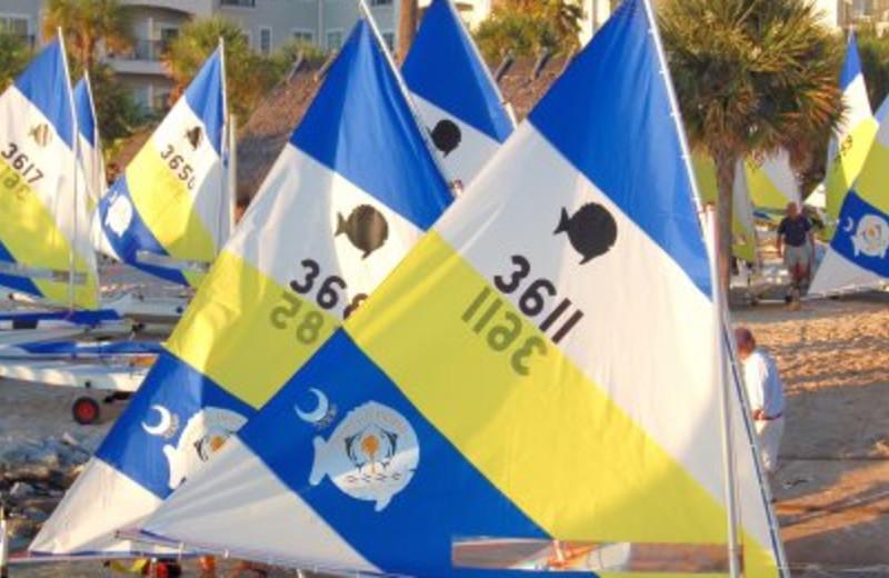Marina Sailing at  Charleston Harbor Resort