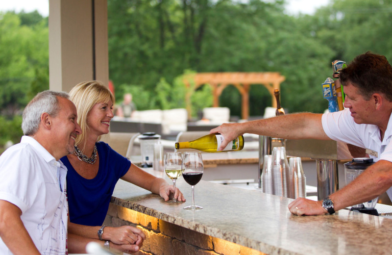 Located on the Poolside Veranda at The Ridge, BAR 55  is a trendy place to enjoy food & drink specials, live weekend entertainment and breathtaking views of the wooded slopes and shores of Lake Como.