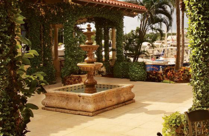 Courtyard Fountain at Longboat Key Club
