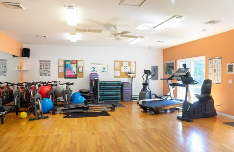 Gym at Deerfield Spa.