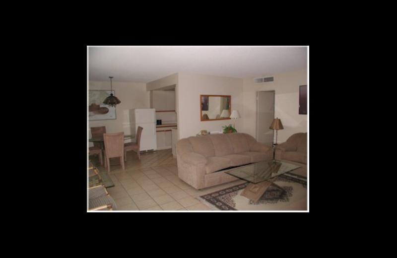 Guest room at Club Trinidad.