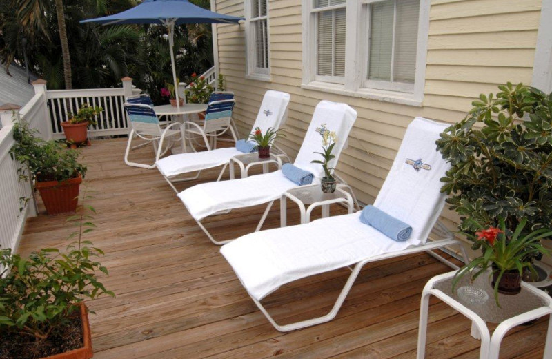 Deck chairs at The Heron House & Heron House Court.