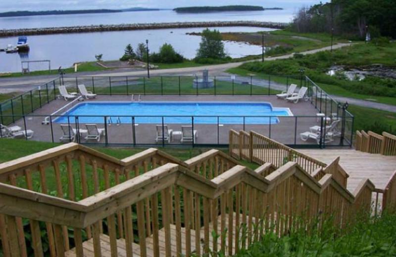Outdoor Pool at Atlantica Hotel