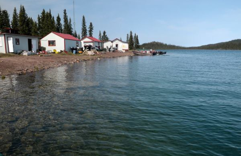 Cabins at Plummer's Arctic Fishing Lodges.