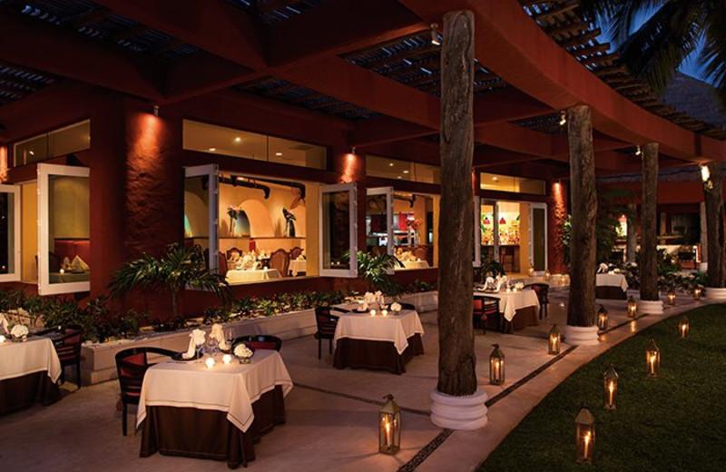 Dining at Zoetry Paraiso de la Bonita Riviera Maya.