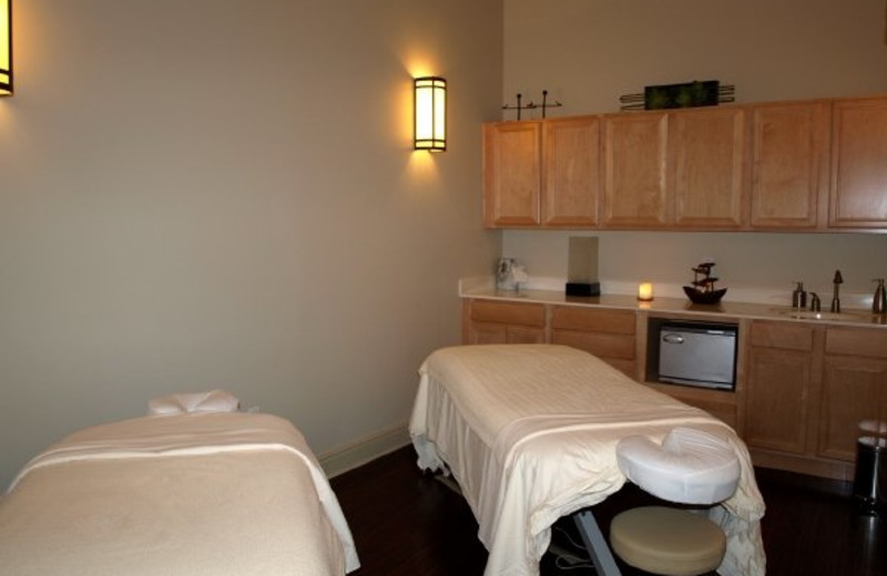 Spa massage tables at The Palms of Destin Resort & Conference Center.