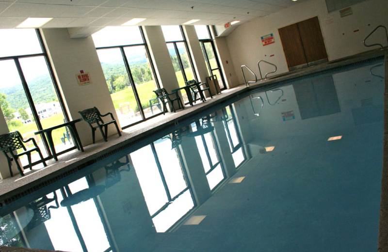 Indoor pool at Waterville Valley Resort.
