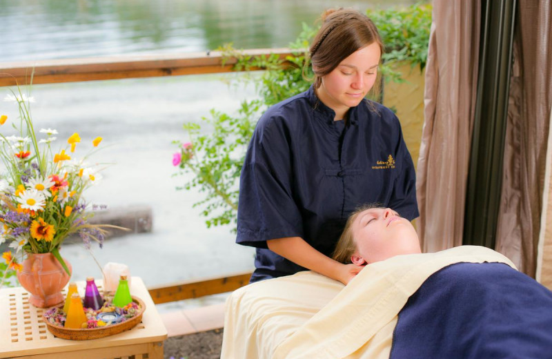 Massages at Galiano Oceanfront Inn and Spa.